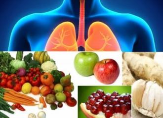Những thực phẩm làm sách phổi cho người bỏ thuốc lá
