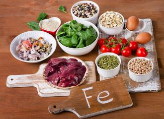 Thực phẩm cần thiết hàng ngày cho người thiếu máu